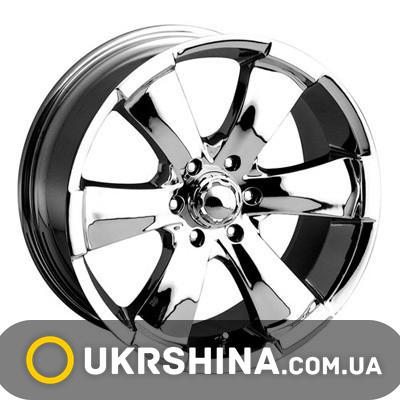 Литые диски Mi-tech MK-18 chrome W9 R20 PCD6x139.7 ET30 DIA78.1