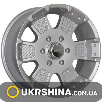 Литые диски Mi-tech MK-41 silver W8 R17 PCD6x139.7 ET12 DIA106.1