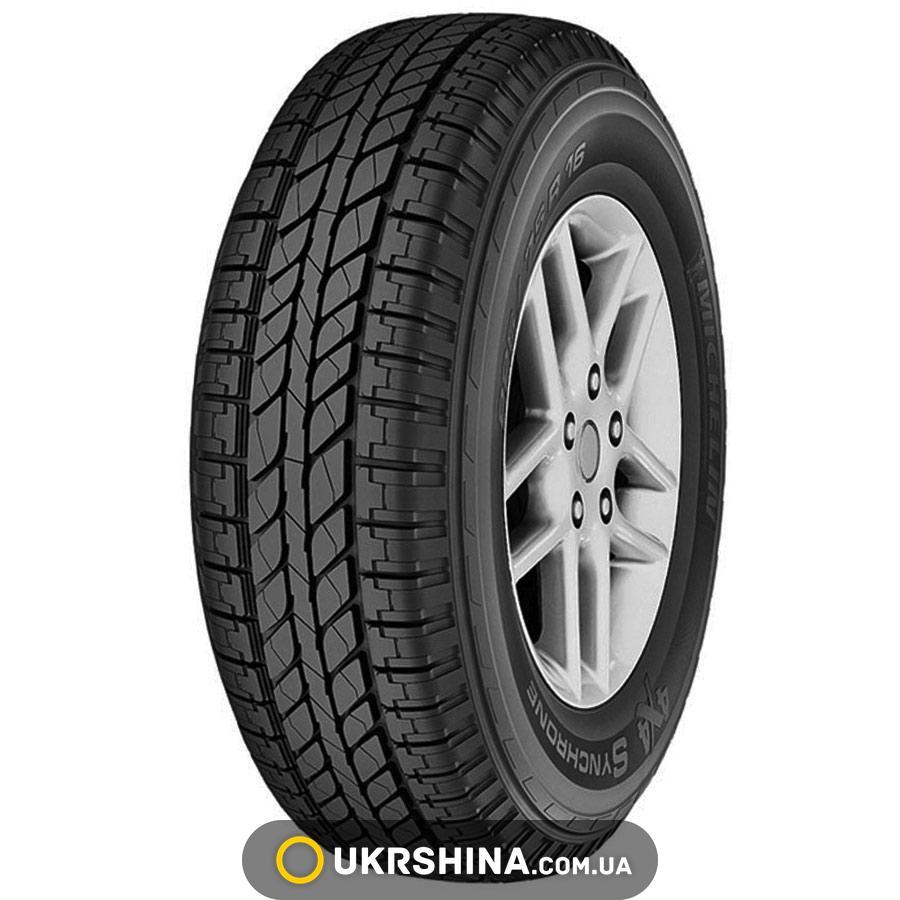 Всесезонные шины Michelin 4x4 Synchrone 235/65 R17 104H