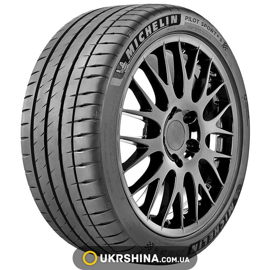Летние шины Michelin Pilot Sport 4 S 245/35 ZR20 95Y XL