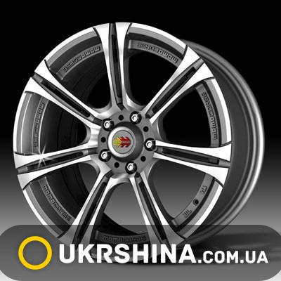 Литые диски Momo Next W6.5 R15 PCD4x100 ET38 DIA72.3 silver polished