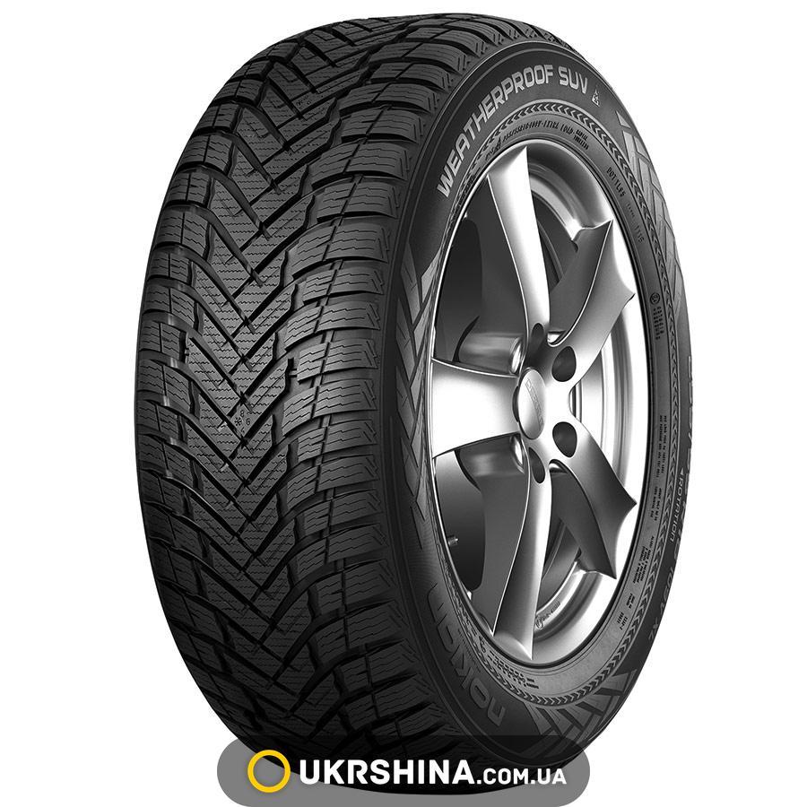 Всесезонные шины Nokian WeatherProof SUV 225/70 R16 107H XL