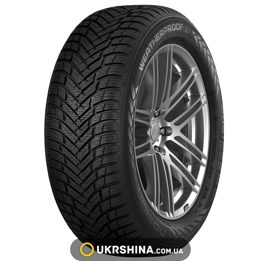 Всесезонные шины Nokian WeatherProof 245/45 R18 100V XL