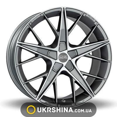 Литые диски OZ Racing Quaranta grigio corsa W8 R18 PCD5x120 ET40 DIA79