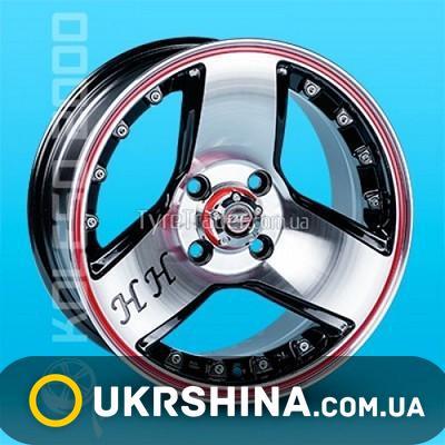 Литые диски JT R062ZR W6.5 R14 PCD4x100 ET19 DIA67.1 RL B-P/M
