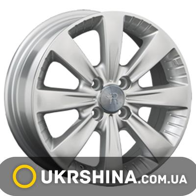 Литые диски Replay Chevrolet (GN73) W5.5 R14 PCD4x100 ET45 DIA56.6 silver