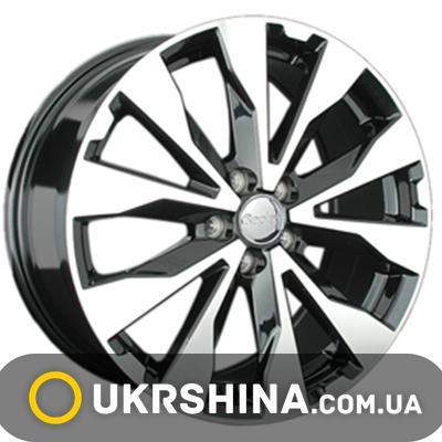 Литые диски Replay Subaru (SB25) W7 R17 PCD5x100 ET48 DIA56.1 BKF