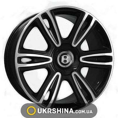 Литые диски Replica Bentley (BN877) W9.5 R21 PCD5x112 ET41 DIA57.1 BKF