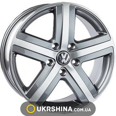 Литые диски Replica Volkswagen (A-R159) W7.5 R17 PCD5x130 ET57 DIA71.6 MG
