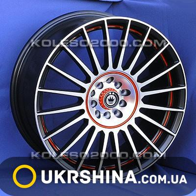 Литые диски Konig S912 BFP11 W7.5 R18 PCD5x100 ET45 DIA73.1