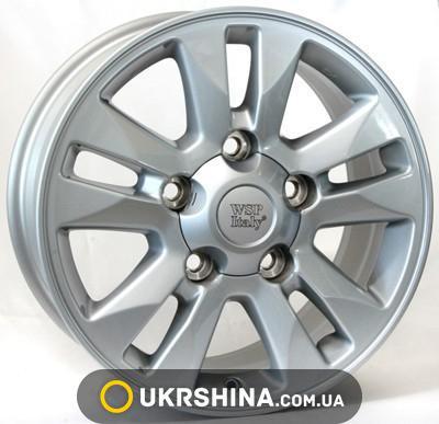 Литые диски WSP Italy Toyota (W1759) Brasil W8.5 R20 PCD5x150 ET60 DIA110.1 silver