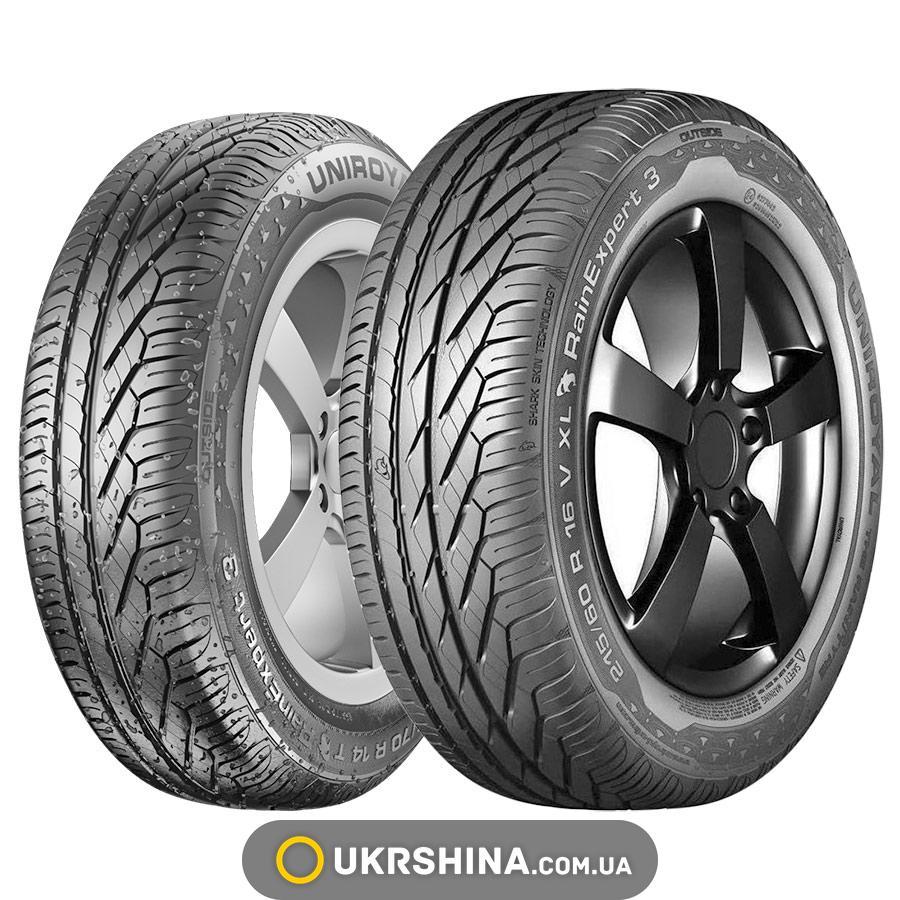Летние шины Uniroyal Rain Expert 3 225/60 R18 100H FR
