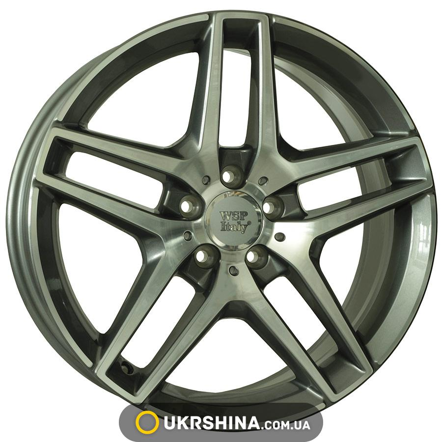 Литые диски WSP Italy Mercedes (W771) Enea W8.5 R19 PCD5x112 ET43 DIA66.6 anthracite polished