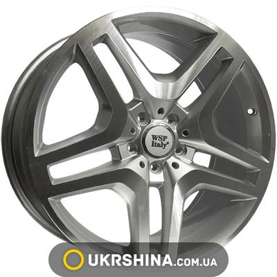 Литые диски WSP Italy Mercedes (W774) Ischia W8.5 R20 PCD5x112 ET29 DIA66.6 silver polished