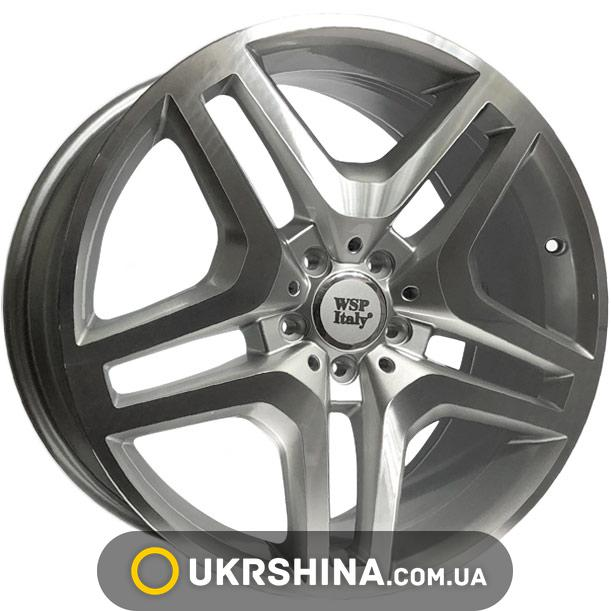 Литые диски WSP Italy Mercedes (W774) Ischia W8.5 R20 PCD5x112 ET40 DIA66.6 silver polished