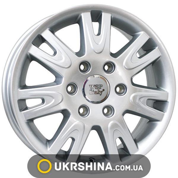Литые диски WSP Italy Mercedes (W777) Elephant W6.5 R16 PCD6x130 ET62 DIA84.1 silver