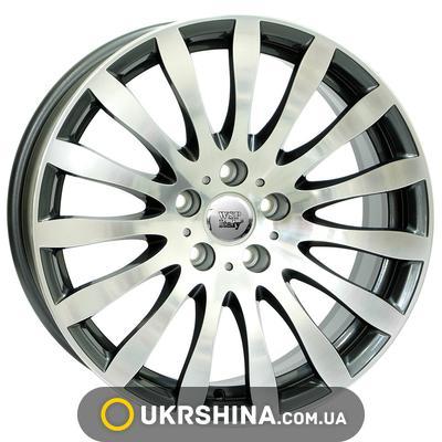 Литые диски WSP Italy BMW (W663) Glazgo W8 R18 PCD5x120 ET15 DIA72.6 anthracite polished