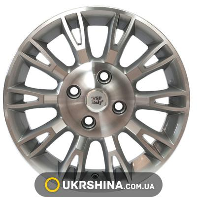 Литые диски WSP Italy Fiat (W150) Valencia W6 R15 PCD4x98 ET35 DIA58.1 silver polished