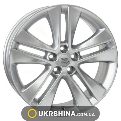 Литые диски WSP Italy Opel (W2507) Astra W7 R17 PCD5x115 ET44 DIA70.2 hyper silver