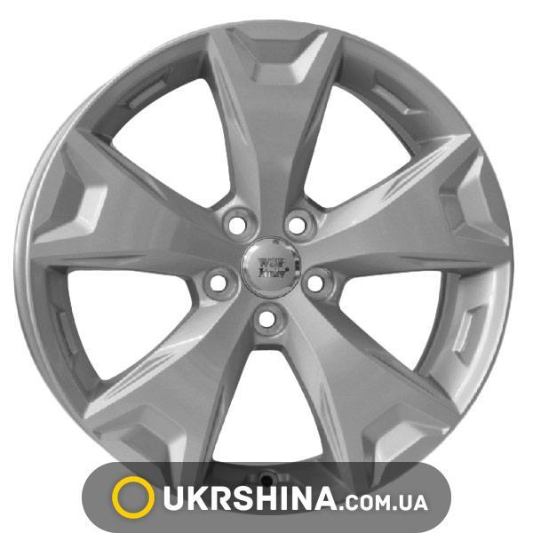 Литые диски WSP Italy Subaru (W2705) Atena W7 R17 PCD5x100 ET48 DIA56.1 silver