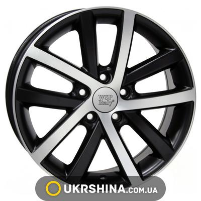 Литые диски WSP Italy Volkswagen (W460) Rheia W7.5 R17 PCD5x112 ET54 DIA57.1 dull black polished