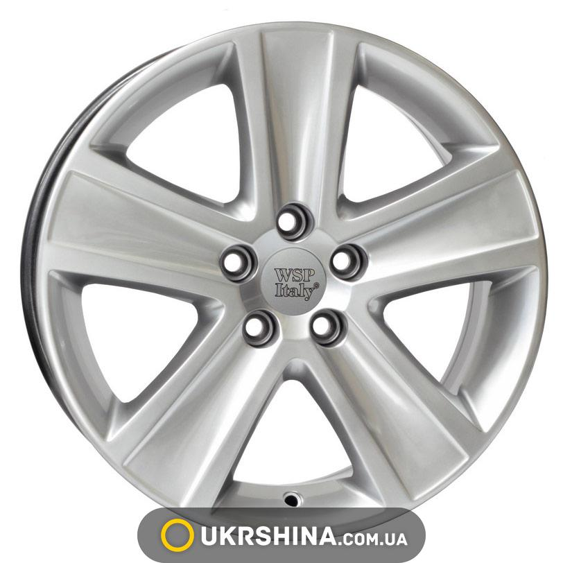 Литые диски WSP Italy Volkswagen (W463) Cross Polo W7 R16 PCD5x100 ET46 DIA57.1 hyper silver