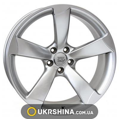 Литые диски WSP Italy Audi (W567) Giasone W8 R17 PCD5x112 ET26 DIA66.6 hyper silver