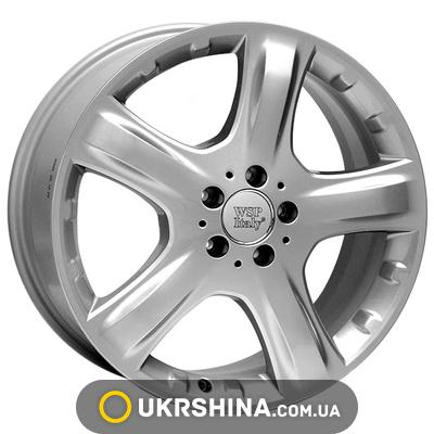 Литые диски WSP Italy Mercedes (W737) Mosca W8 R17 PCD5x112 ET57 DIA66.6 silver