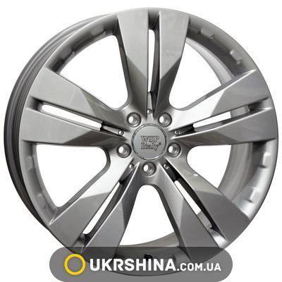 Литые диски WSP Italy Mercedes (W767) Manila W7.5 R17 PCD5x112 ET47.5 DIA66.6 silver