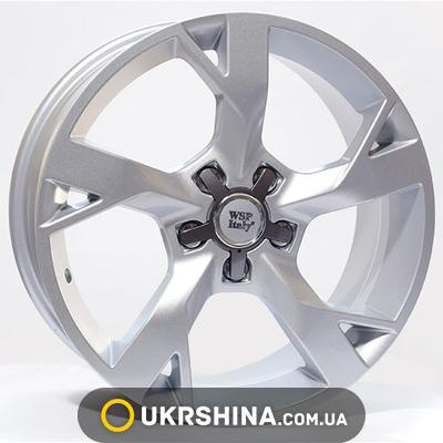 Литые диски WSP Italy Audi (W548) AD 3 Star Line W7.5 R17 PCD5x112 ET42 DIA57.1 silver