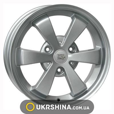 Литые диски WSP Italy Smart (W1507) Etna W5 R15 PCD3x112 ET25 DIA57.1 hyper silver
