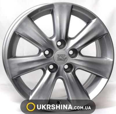 Литые диски WSP Italy Toyota (W1762) Nemuro W6 R15 PCD5x100 ET33 DIA54.1 silver