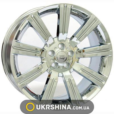 Литые диски WSP Italy Land Rover (W2321) Manchester Sport W10 R22 PCD5x120 ET48 DIA72.6 chrome