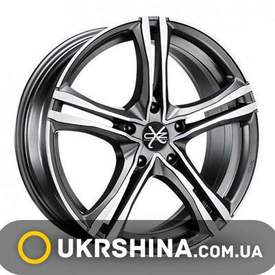 Литые диски OZ Racing X5B graphite W7 R16 PCD5x112 ET35 DIA75
