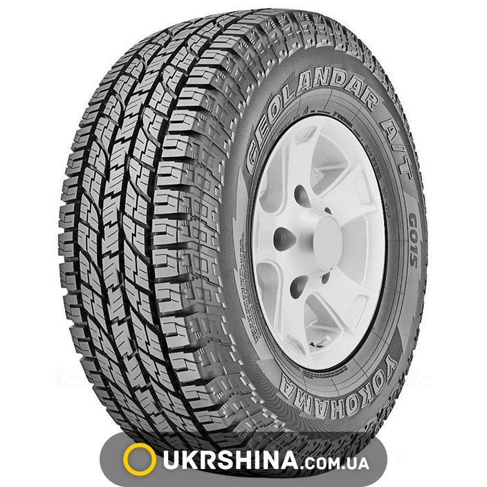 Всесезонные шины Yokohama Geolandar A/T G015 255/65 R17 114H XL