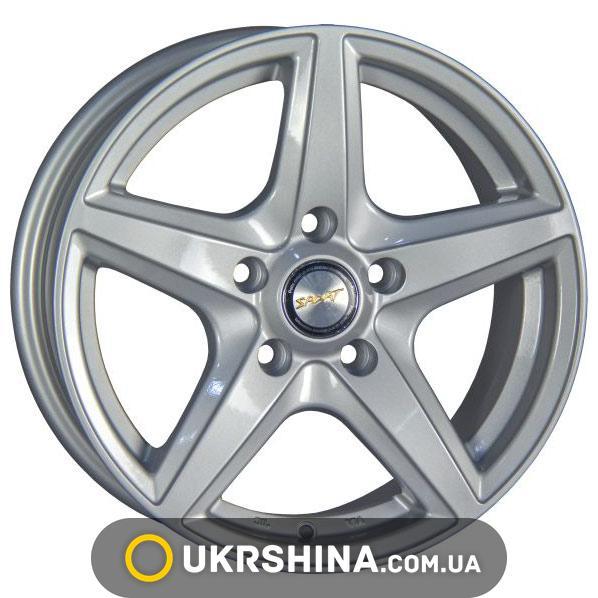 Литые диски Aftermarket A518 W6.5 R15 PCD5x100 ET38 DIA57.1 silver