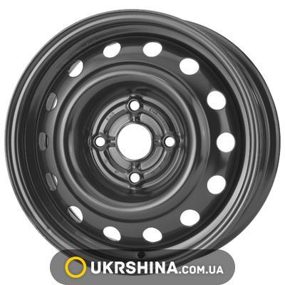 Стальные диски ALST (KFZ) 6555 Chevrolet/Daewoo W5.5 R14 PCD4x114.3 ET44 DIA56.6 black