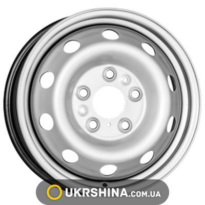 Стальные диски ALST (KFZ) 7011 W6 R16 PCD5x130 ET68 DIA78.1 silver