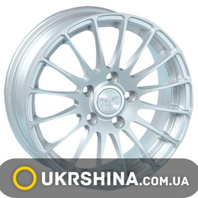 Литые диски Aleks 5035 W6 R15 PCD5x112 ET35 DIA73.1 silver