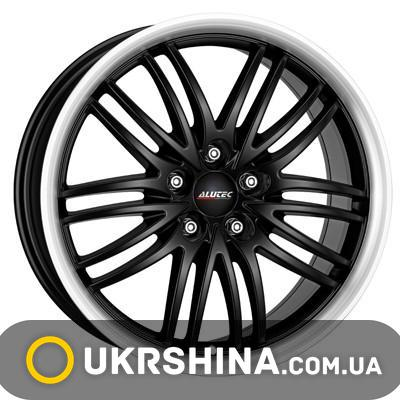Литые диски Alutec Black Sun W8 R17 PCD5x120 ET35 DIA72.6 racing black lip polished