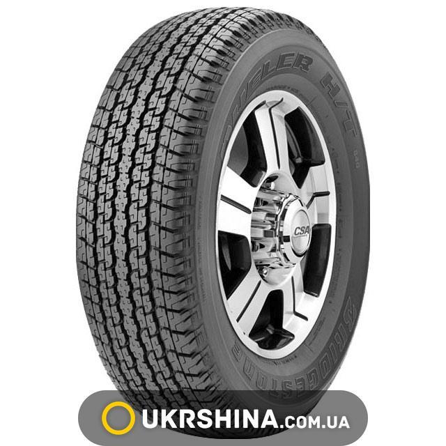 Летние шины Bridgestone Dueler H/T 840 255/70 R18 113S