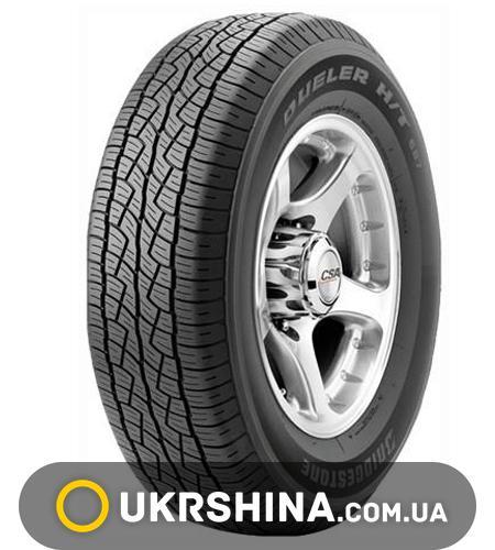 Всесезонные шины Bridgestone Dueler H/T D687 235/55 R18 100H