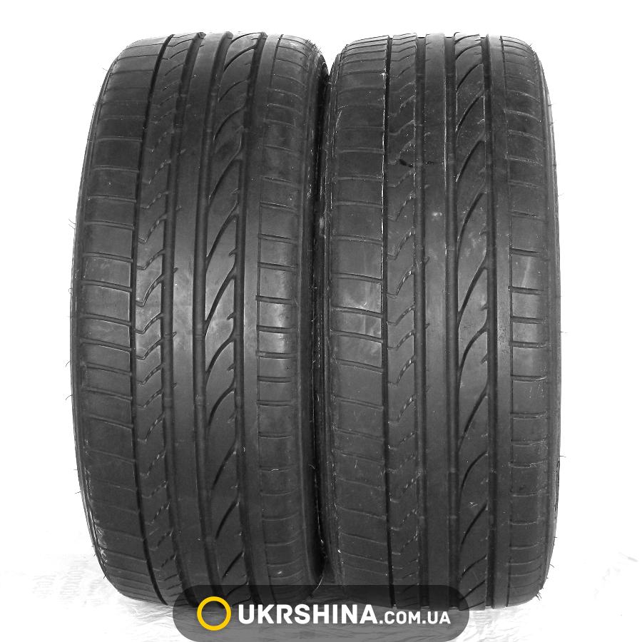 Летние бу шины Bridgestone Potenza RE050 A 205/40 R17 84W (Франция, 2013, протектор 6 мм)