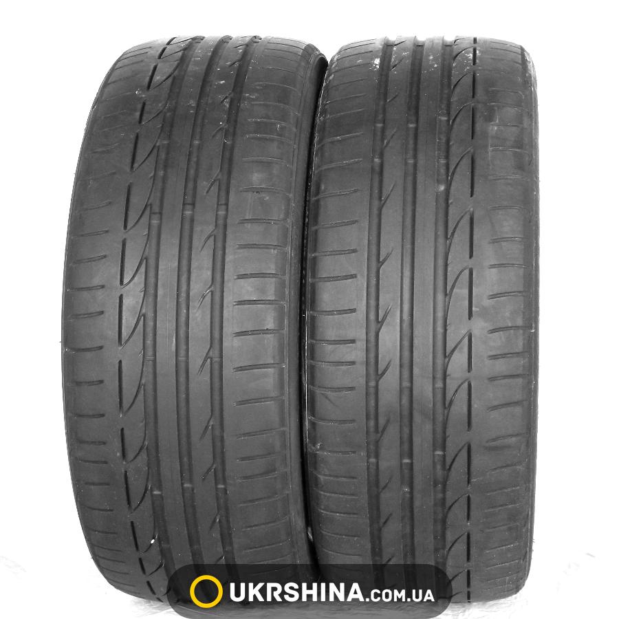 Летние бу шины Bridgestone Potenza S001 225/40 R19 89Y (Польша, Франция, 2013, протектор 5,0-5,5 мм)