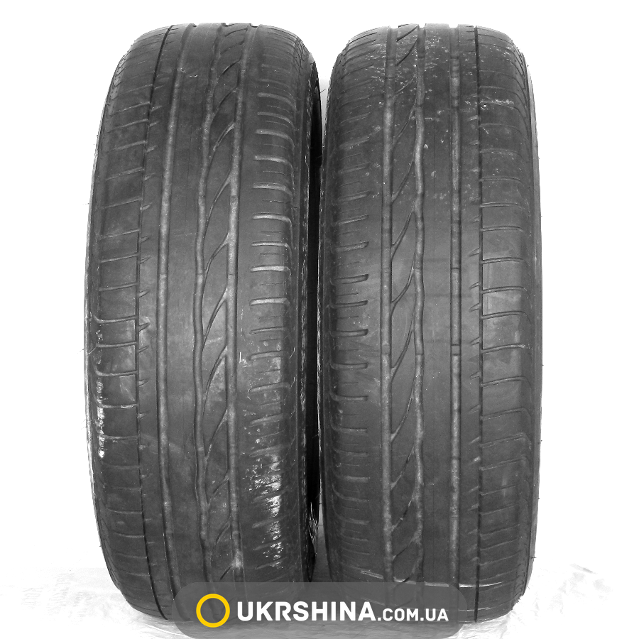 Летние бу шины Bridgestone Turanza ER300 205/60 R16 92W RFT (Италия, 2012, протектор 4,0-4,5 мм)