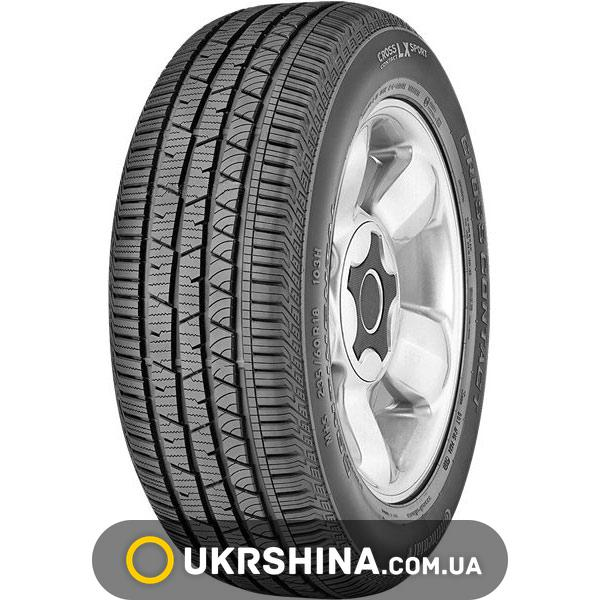 Всесезонные шины Continental ContiCrossContact LX Sport 235/55 R19 101H SSR * MOE