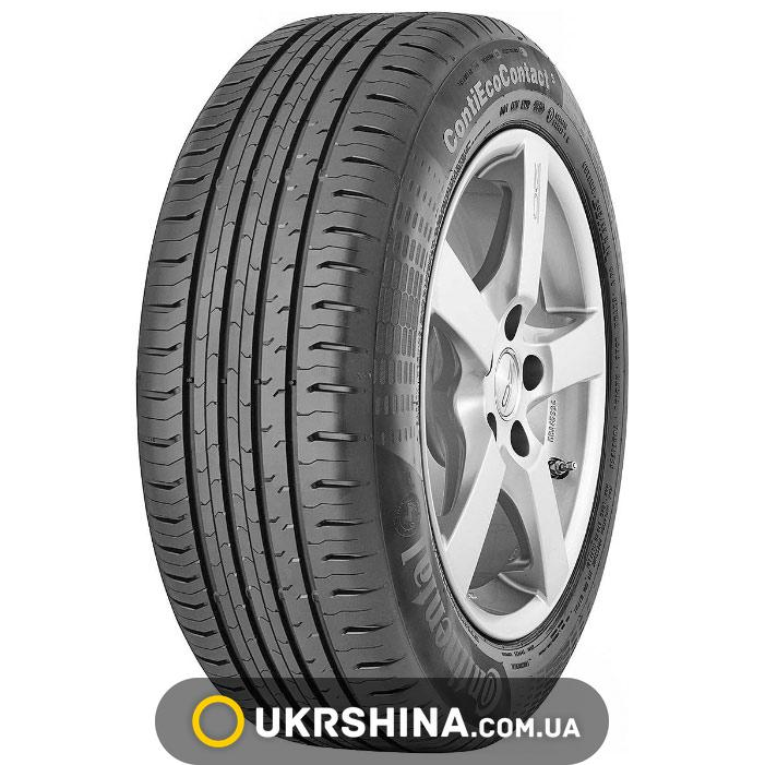 Летние шины Continental ContiEcoContact 5 165/60 R15 77H