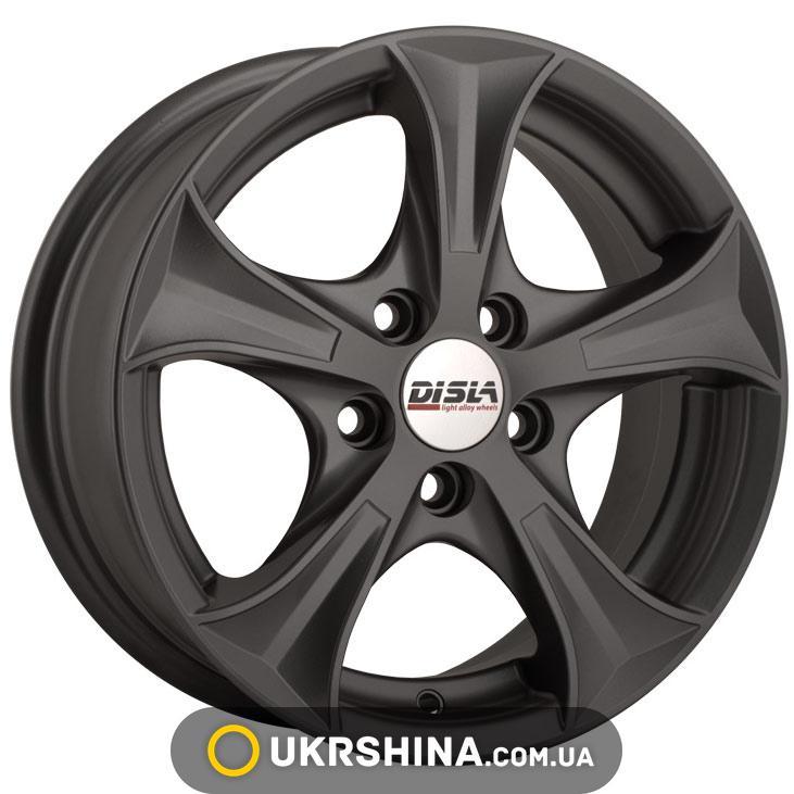 Литые диски Disla Luxury 406 W6 R14 PCD4x100 ET37 DIA67.1 GM