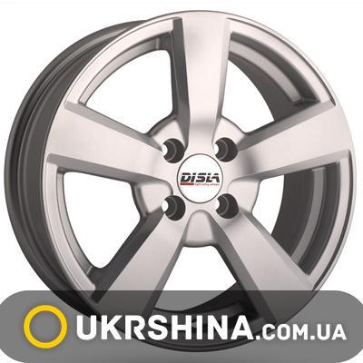 Литые диски Disla Formula 503 W6.5 R15 PCD4x108 ET25 DIA65.1 silver