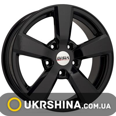 Литые диски Disla Formula 603 W7 R16 PCD5x108 ET38 DIA63.4 black